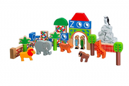 Lanka Kade Wooden Building blocks - Zoo